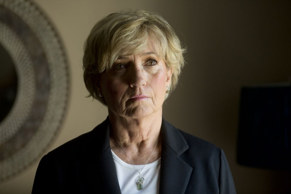 Kathy Chaney, who was the DEA's group supervisor in Columbus, Ohio, before retiring in 2013, described how one of her cases against a distributor languished for years without action. (Photo by Andrew Spear for The Washington Post)