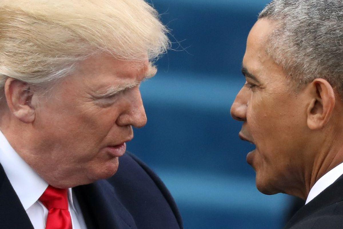 Trump Citing No Evidence Accuses Obama Of Plot To Wiretap Trump