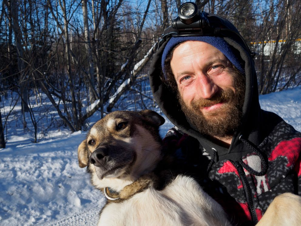 Nicolas Petit took second place in the 2018 Iditarod. Photographed at Iditarod Headquarters in Wasilla on February 27, 2019. (Marc Lester / ADN)