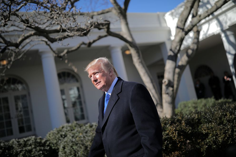 President Donald TrumppreparesFriday to speak at the annual March for Life rally, taking place on the National Mall, from the White House Rose Garden. REUTERS/Carlos Barria
