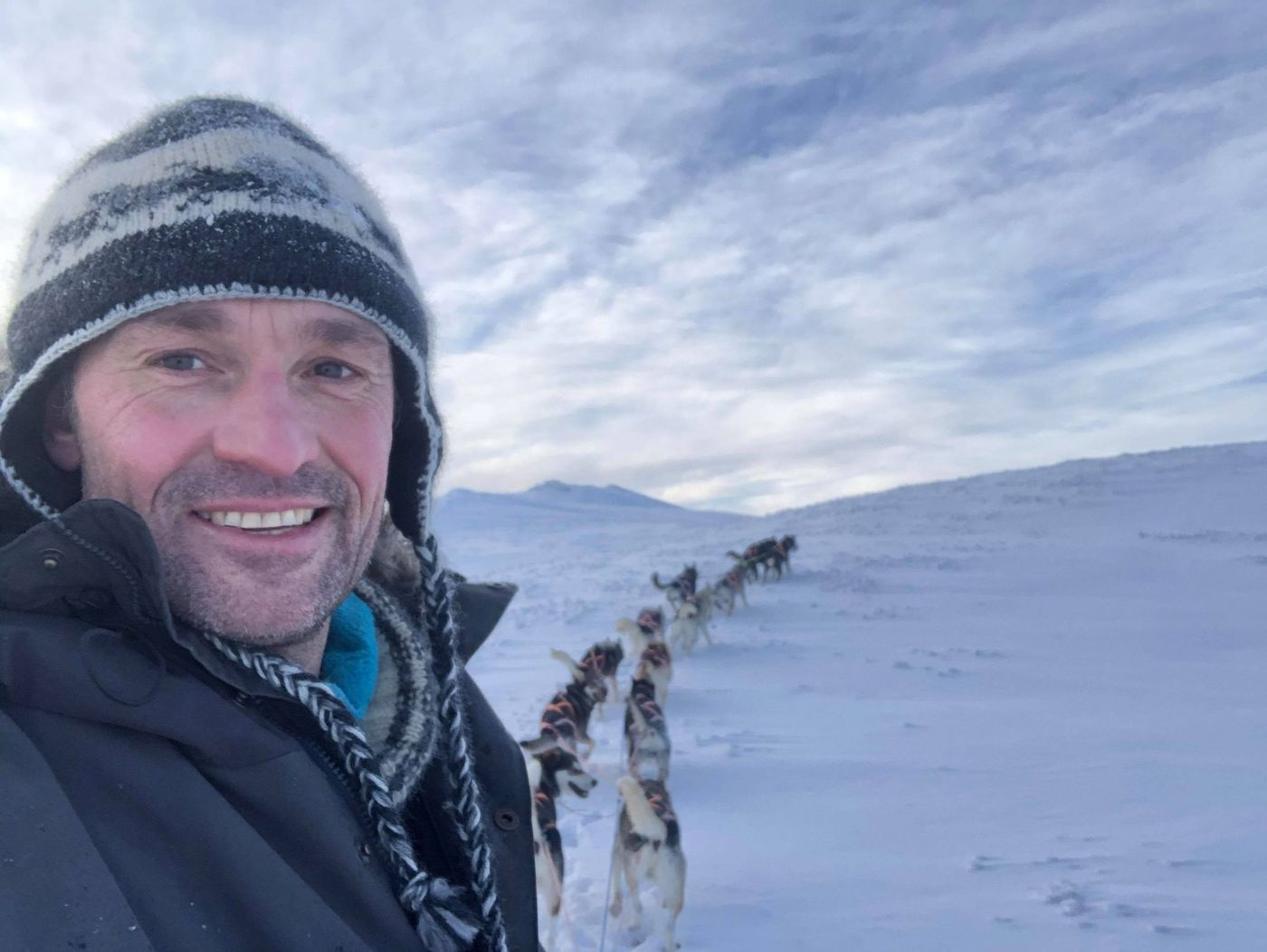 Thomas Waerner won the 2020 Iditarod and then spent months stranded in Alaska by pandemic travel restrictions. Now he's back home, mushing and planning his 2021 races -- which won't involve a trip to Alaska for the Iditarod. (Photo by Thomas Waerner)