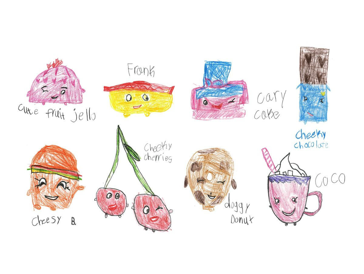 (Illustrations by Gracie Occhino, age 7)