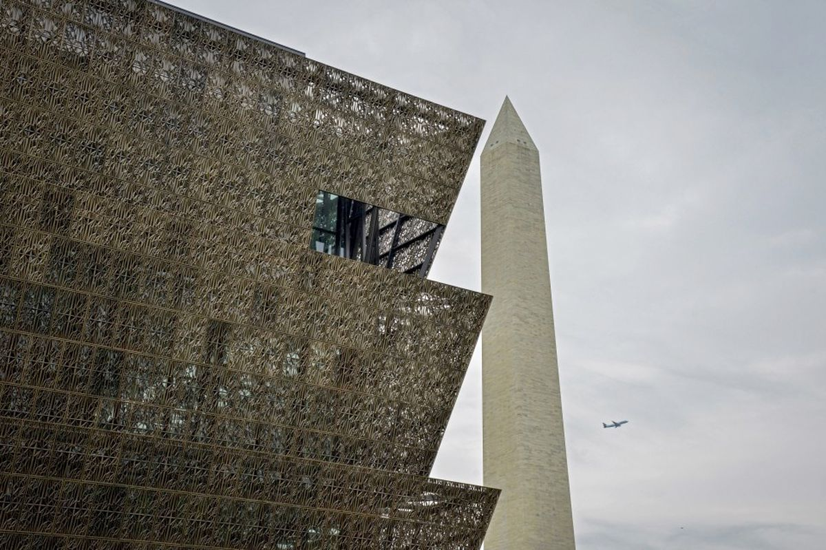 The National Museum of African American History and Culture, which opened in 2016. (Washington Post photo by Jahi Chikwendiu)