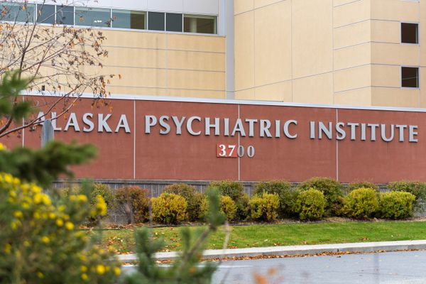 The Alaska Psychiatric Institute, photographed Tuesday, Oct. 8, 2019. (Loren Holmes / ADN)