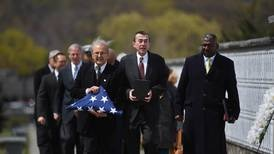 After lonely death, veteran got a hero's goodbye