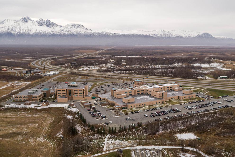 Mat-Su Regional Medical Center, photographed on Friday, Oct. 23, 2020. (Loren Holmes / ADN)