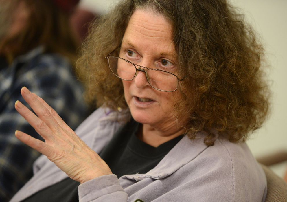 Betsy Woodin of the Alaska Center for Resource Families. (Bob Hallinen / Alaska Dispatch News)