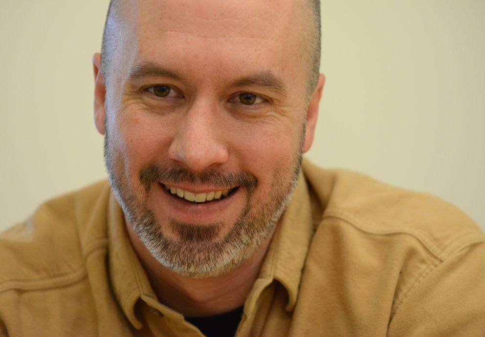 Rob Carter, agronomist with the Alaska Plant Materials Center, on Feb. 22. (Bob Hallinen / ADN)