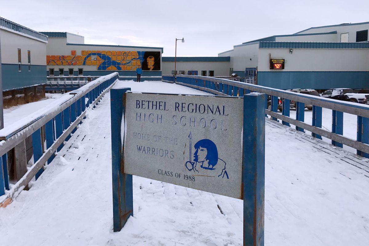 Bethel Regional High School. (Lisa Demer / ADN file)