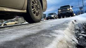 Anchorage wakes up to icy roads Monday, and more may be on the way