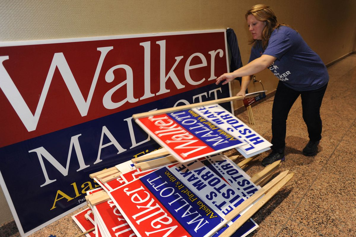 Bottom Line On Election Results Alaskans Want Less