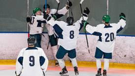 Anchorage Wolverines junior hockey team grabs first franchise win