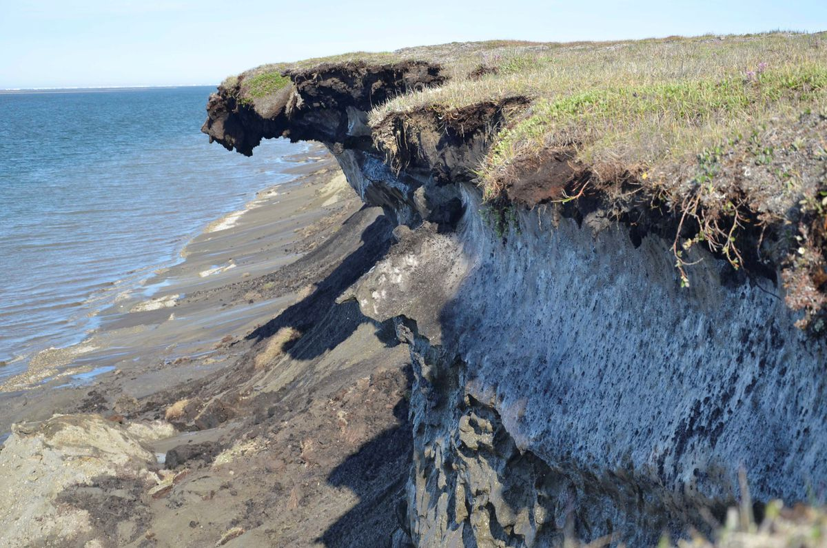 Photos North Slope Erosion Anchorage Daily News