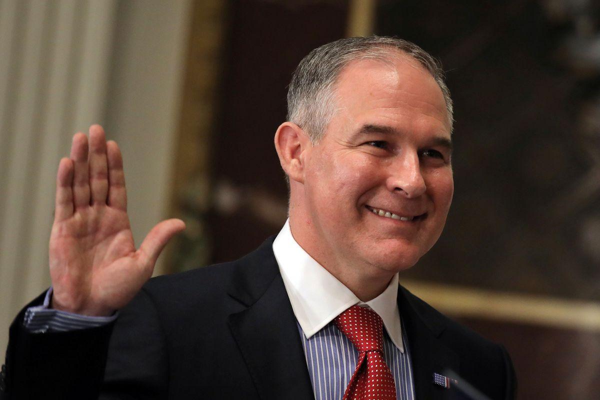 EPA Administrator Scott Pruitt (Carlos Barria / Reuters file)