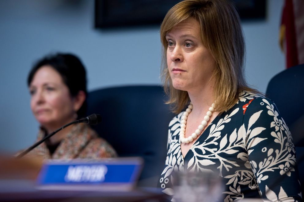 Sen. Mia Costello, R-Anchorage, is chair of the Senate Labor Committee. (Marc Lester / Alaska Dispatch News)