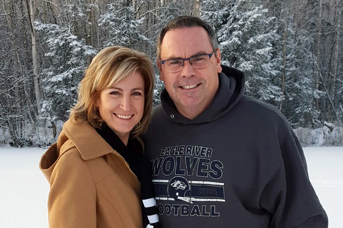 Anchorage School District Superintendent Deena Paramo married Bill Bishop over the district's winter break.  (Courtesy Anchorage School District)