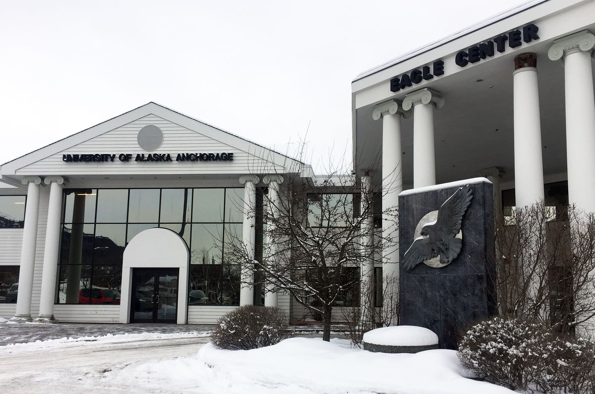 The University of Alaska Anchorage will not renew its lease in the Eagle Center building in Eagle River, according to an email sent by UAA Chancellor Cathy Sandeen on Friday. (Matt Tunseth / Chugiak-Eagle River Star)