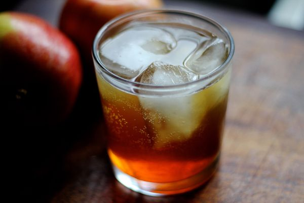 Apple cider Old Fashioned (Maya Wilson / Alaska from Scratch)