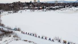 At the Frosty Bottom bike race, the winner gets an edge from armpits and toe-warmers