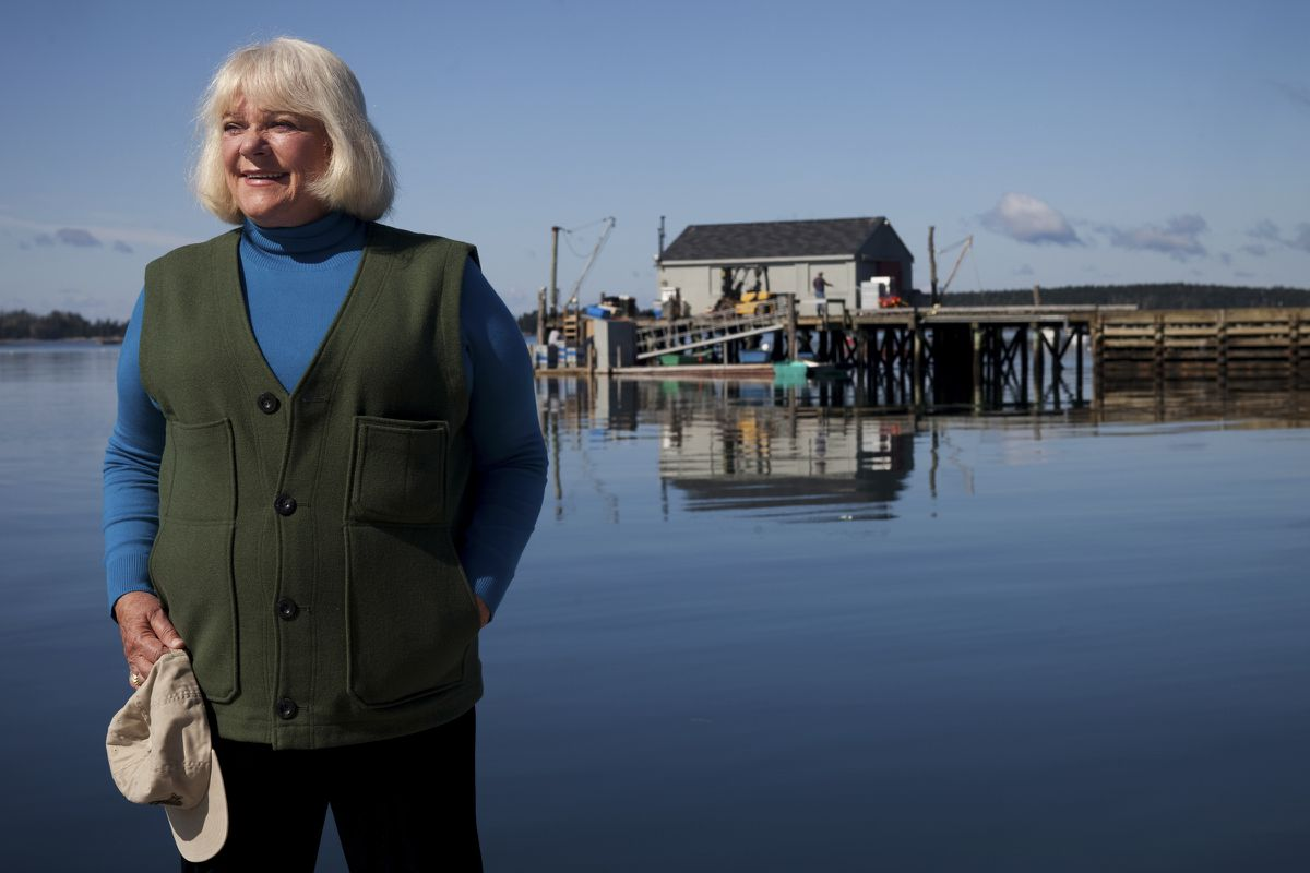 Linda Bean, a granddaughter of the founder of L.L. Bean, in Port Clyde, Maine, Sept 15, 2009. An unusual product endorsement by President-elect Donald Trump adds to the company's headaches over Linda Bean's political activity. (Craig Dilger/The New York Times file)