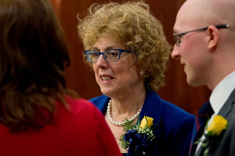 Rep. Gabrielle LeDoux, R-Anchorage. (Marc Lester / ADN)