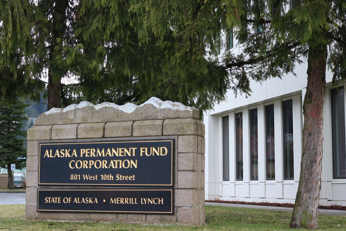 The Alaska Permanent Fund Corp. headquarters in Juneau. (Nathaniel Herz / ADN)