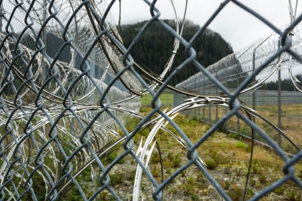 Spring Creek Correctional Center, Seward, Alaska, Aug. 12, 2016. (Loren Holmes / ADN)