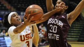 After feeding the wolves, USC women's basketball team beats the Bears