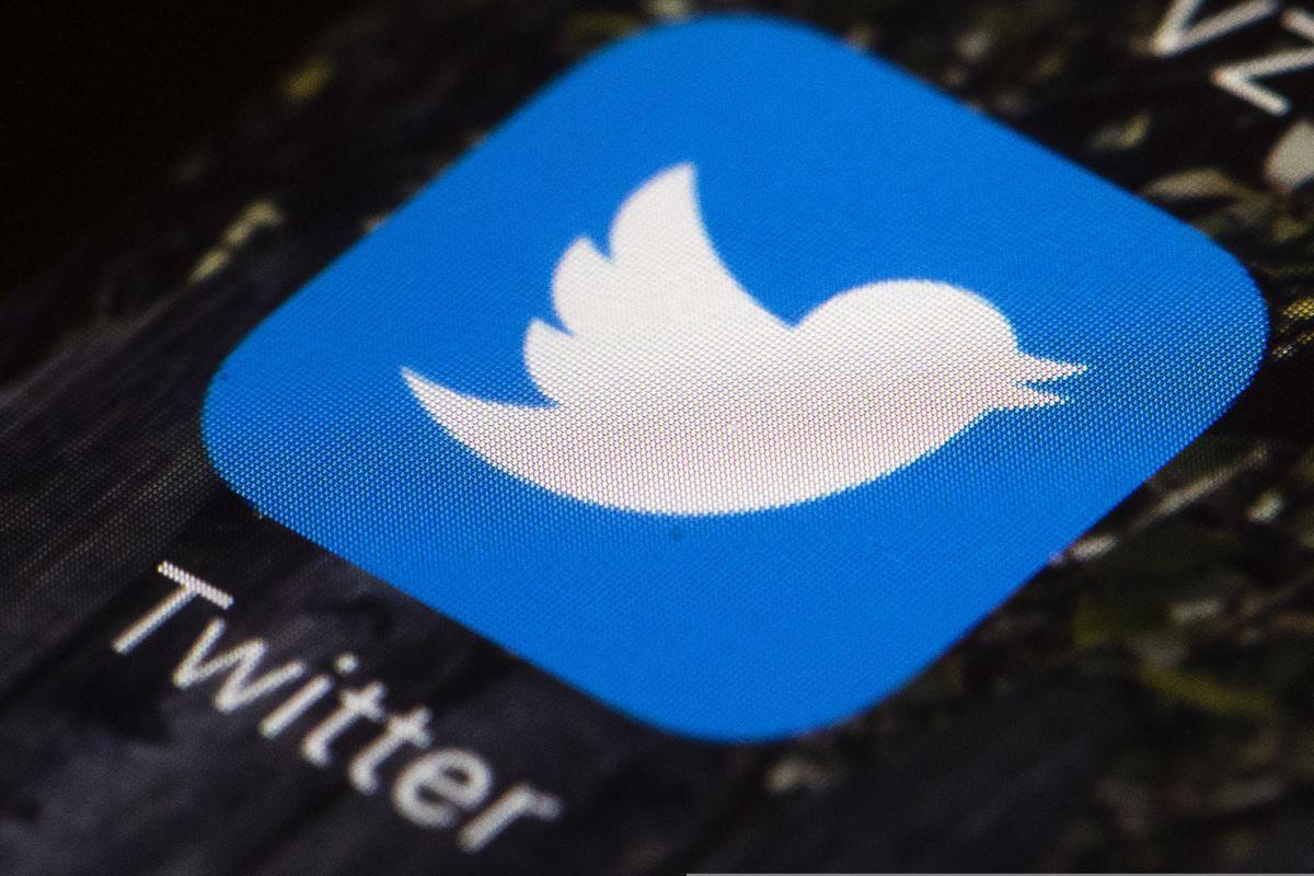 The Twitter app on a mobile phone. (Matt Rourke / AP file photo)