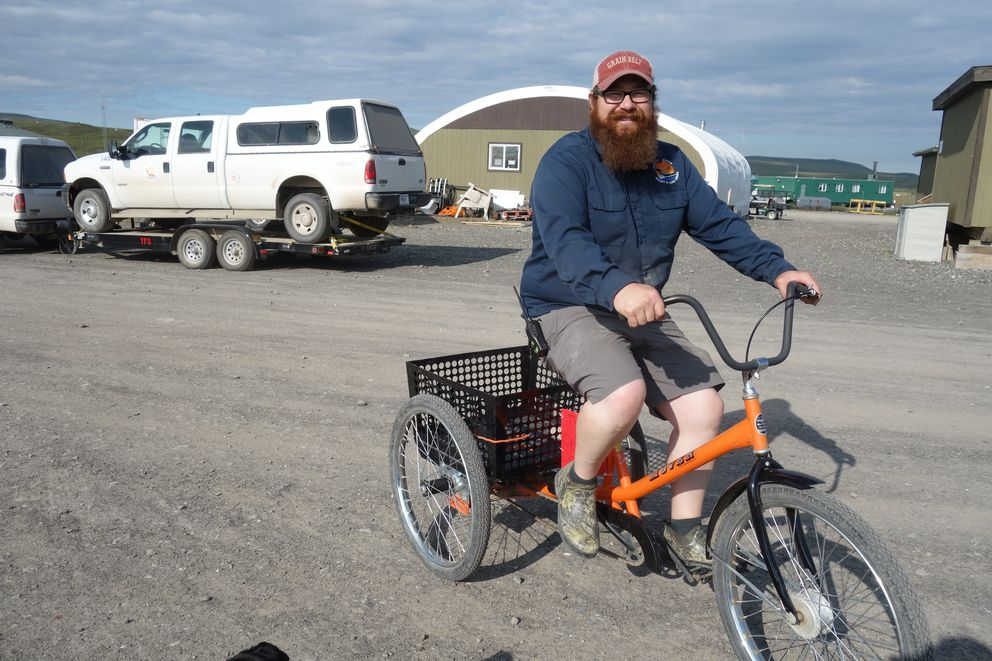 Justin Johnson, manager of Toolik Field Station. (Ned Rozell)