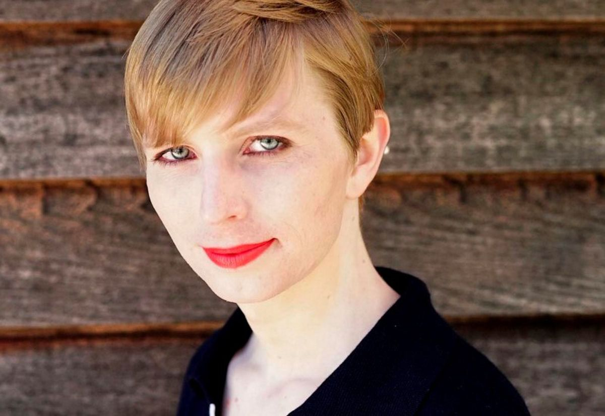 Chelsea Manning, the transgender U.S. Army soldier responsible for a massive leak of classified material, poses in a photo of herself for the first time since she was released from prison and post to social media on May 18, 2017. (Chelsea Manning / CC BY-SA / Handout via Reuters)