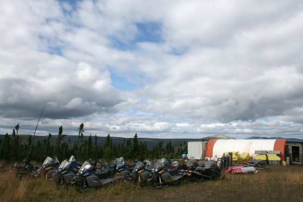 OPINION: Donlin Gold project will provide good, long-term jobs for locals - and help the people of the Calista region maintain subsistence lifestyles. Pictured: The Donlin Gold work camp.