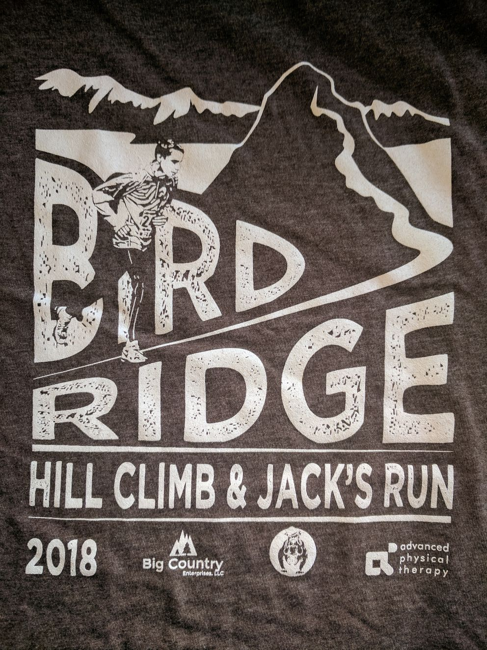 Sunday's race T-shirtwill display the new name of the junior race.(Photo provided by Brad Precosky)