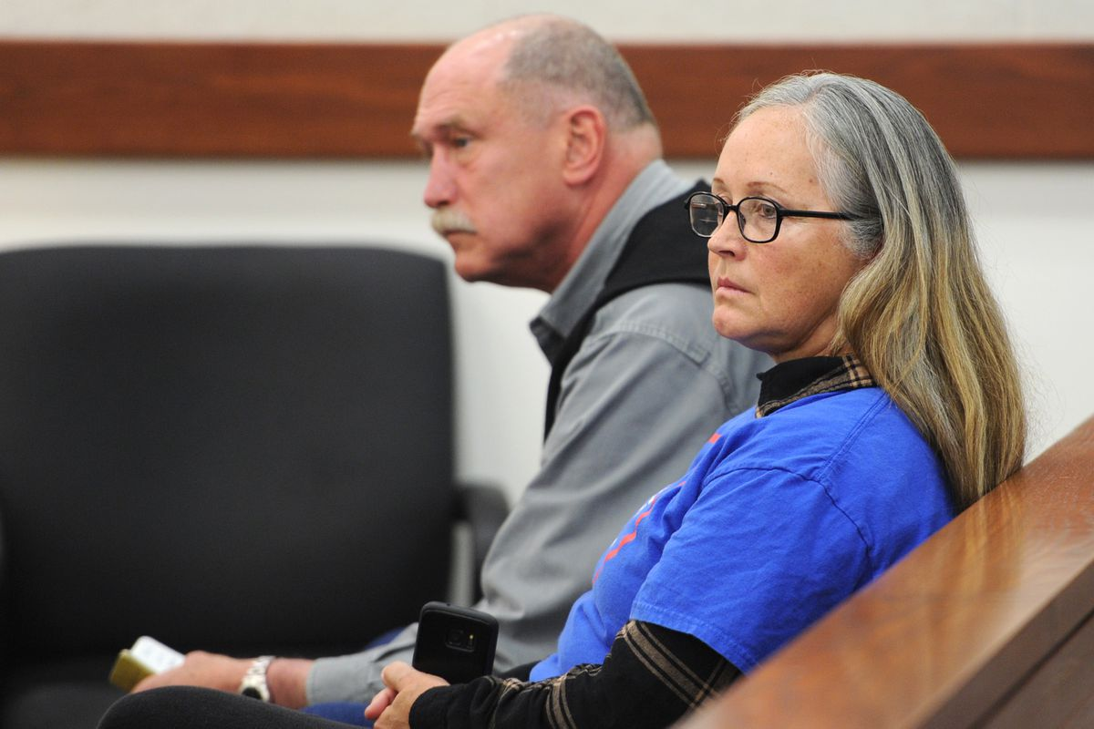 Ben and Edie Grunwald attended a pre-trial conference in Palmer on Oct. 4, 2017. (Bill Roth / ADN file photo)