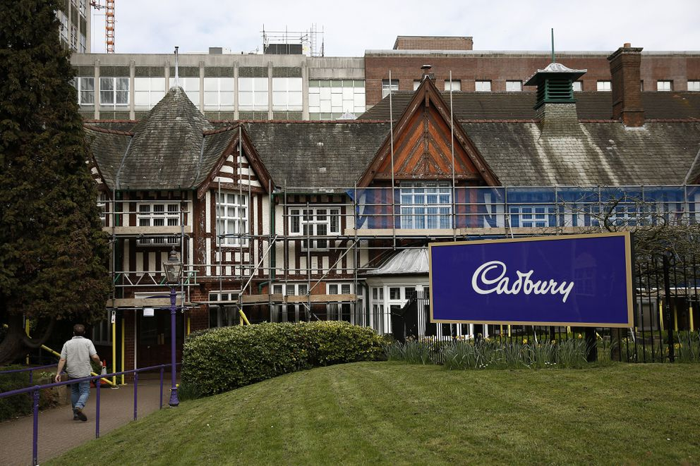 The Bournville Cadbury chocolate factory, operated by Mondelez International Inc., in Birmingham, England. (Bloomberg file photo by Simon Dawson)